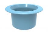 Color Match RPTC-09 Retrofit Pebble Top Pole Holder Cap and Plug - Light Blue