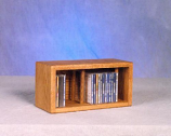 The Wood Shed 103D-1 CD Storage Cabinet - Clear