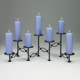 Accordian Candelabra