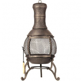 Corona Outdoor Chimenea Fireplace