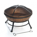 Avondale Steel Fire Bowl
