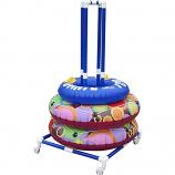Float Storage ATFSC Aquatic Tube Tire Ring Storage Cart