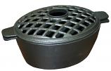 Small Lattice 2 Qt. Black Matte Steamer