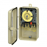 Intermatic T104R3 Time Switch DPST Outdoor Type 3R Metal 208-277 VAC