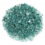 "AFG AFF-AZBL12-10 Azuria 10 lbs. Fire Glass - 1/2"""