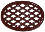 Apple Red Lattice Trivet By John Wright Hearth