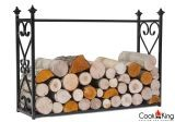 "Cook King 333236 Aldi Wood Rack - 23.6"" x 35.4"" x 9.8"""