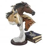 Racing the Wind Wild Horse Statue by Samuel Lightfoot - Grande