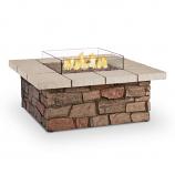Real Flame C11811LP Sedona Square LP Firetable w/ Conversion Kit