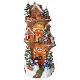 """Santa'S Workshop At The North Pole"" Illuminated Statue"