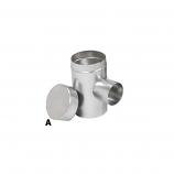 "Aluminum 7"" Selkirk Flexi-liner Tee Cover"