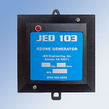 JED 103, Corona Discharge Ozone Generator for Hot Tubs - 800 Gallons
