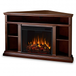 Real Flame 3750E-DE Churchill Corner Entertainment Electric Fireplace - Espresso