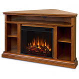 Real Flame 3750E-O Churchill Corner Entertainment Electric Fireplace - Oak