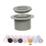 Color Match CP-08 Standard Cap and Flange Plug Set - Tan