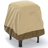 Dura Covers LRFP5517 Fade Proof 35in Square Firepit Cover in Two Tone - X-Large
