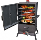 """Extra-Wide Easy Access Vertical Gas Smoker - 38"""""""