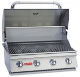 Bull BBQ 30 Inch Stainless Steel Outdoor 4-Burner Natural Gas Barbecue Grill