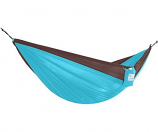 Vivere PAR27 Parachute Hammock - Double- Chocolate and Turquoise