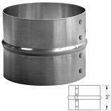"Aluminum Coupling - 3"" By Duraflex Sw"