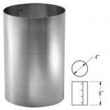 """Stainless Steel Mortar Sleeve - 3"""""""