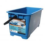 Arett U42-DB02 Heavy Duty Rectangular Window Cleaning Bucket