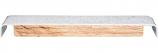 Inter-Fab TB8WW 8' Techni-Beam White With White Top Tread