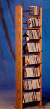 The Wood Shed 804 CD Rack - Clear