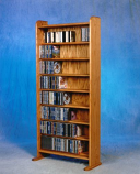 The Wood Shed 802 CD Cabinet - Unfinished