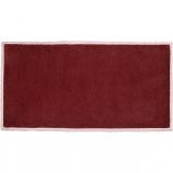 Minuteman Rectangular 44'' x 22'' Hearth Rug - Plum Wine