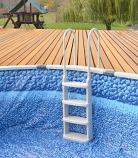 Main Access 200200T Easy Incline Pool Ladder Taupe