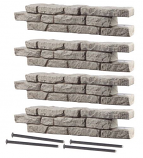 """RTS Set of 4 Straight Section Rock Lock w/ Four 18"""" Spike"""