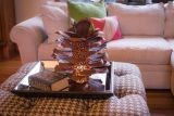 Pine Cone Luminary 412-000 By Desert Steel