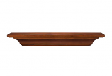 "The Homestead 48"" Shelf or Mantel Shelf in Antique Finish"