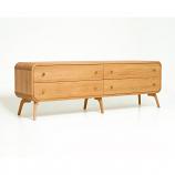 Oak Mood MIA-HE811 Mia TV Stand/Sideboard - Natural Oak