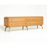 Oak Mood MIA-HE811 Mia TV Stand/Sideboard - Natural Oak