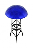 Toad Stool - Blue - Crackle By ACHLA Designs