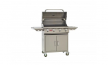 Lonestar Select 4-Burner Stainless Steel Propane Barbecue Grill and Cart by Bull BBQ