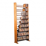 The Wood Shed 901 CD Rack - Unfinished