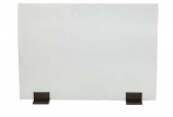 Dagan AH-GS-SN Base in Bronze For Glass Screen - Set of 2