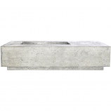 Prism Hardscapes Tavola 5 Fire Table in Natural - LP
