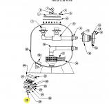 Waterco 15L0171 Drain Cap Plug