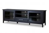 Baxton Studio Espresso TV Stand-One Drawer