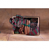 Oak Crate Fire Starter With Color Cones 4 Pine Cinnamon Potpourri