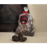 Magical Color Pine Cones, 2.5 Lb. Bag, Burn Blue And Green