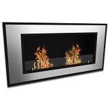 Regal Flame ER8005 Brooks 47in Ventless Bio Ethanol Wall Mounted Fireplace