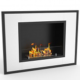 Regal Flame ER8004 Austin 32in Ventless Bio Ethanol Wall Mounted Fireplace