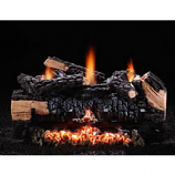 "24"" Cumberland Char Vent-Free LP Log Set with Variable Flame"