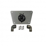 Timer with Plate and Fitting By The Outdoor Plus