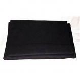 Black 9' X 12' Drop Cloth